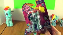 Rainbow Rocks RAINBOW DASH Basic Doll & Rainbow Power My Little Pony Review! by Bins Toy Bin