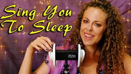 ♪ ZZZzzzz…Sing You To Sleep, Binaural Ear to Ear Lullaby Relaxing Music