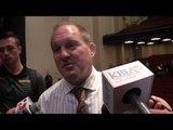 Missouri Wrestling Coach Brian Smith Pleased With Win Over Virginia Tech
