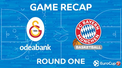 7Days EuroCup Highlights Regular Season, Round 1: Galatasaray 69-86 Bayern