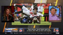 Chad Johnson, Terrell Owens Reach Out To Giants After WRs Go Down With Injuries