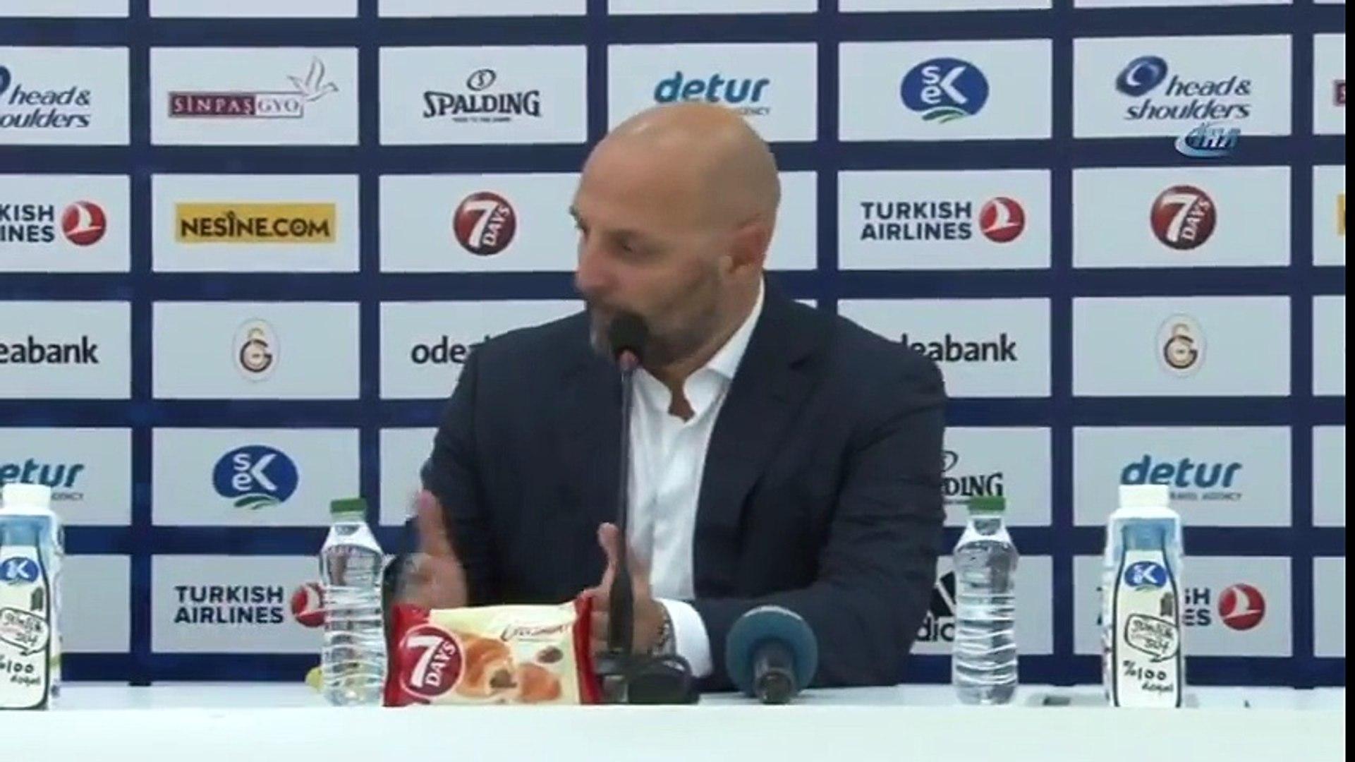 """Sasa Djordjevic: """"Galatasaray'a Karşı Çok Önemli Bir Galibiyet Aldık"""""""