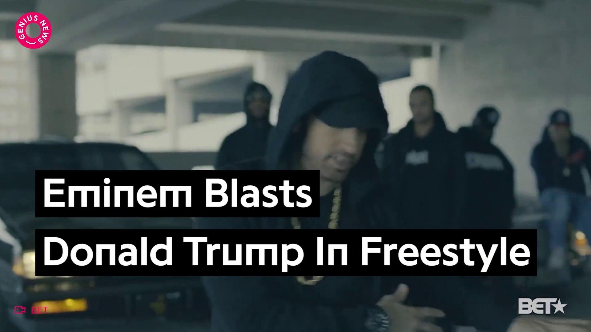 Eminem Eviscerates Donald Trump