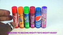 Neon Nail Polish Coca Cola Lip Balm Lipstick Eraser Lip Gloss Cosmetic Set