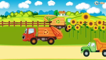 Грузовик и Кран - Строительные Машинки в Мультфильмах для детей - Мультики про Машинки Все серии