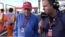 F1 2017 Japanese GP Post Race Niki Lauda Interview