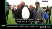 Zap Sport 12 octobre : Hatem Ben Arfa se fait chambrer par Didier Deschamps pour son premier match officiel (Vidéo)