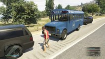 GTA 5 Online Police Patrol - LSPD Responce To Serious Bus Crash In
