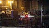 Greenpeace tire un feu dartifice à la centrale nucléaire de Cattenom