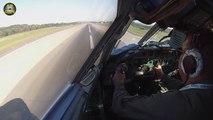 Faire atterrir le plus gros avion du monde.. vue du cockpit ! Antonov 22