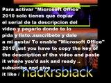 Microsoft Office 2010 Product Key serial Working as of [Sep 2013] funciona