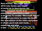 Microsoft Office 2010 Product Key serial Working as of [Sep 2013] funciona