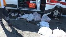 Ambulans Minibüs ile Çarpıştı: 1 Yaralı