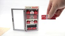 Coca Cola Musical Vending Machine Bank - Its The Real Thing!