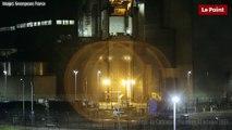 Nucléaire : Greenpeace tire des feux d'artifice dans une centrale nucléaire