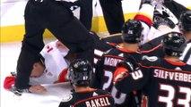 NHL Fight: Corey Perry-Travis Hamonic