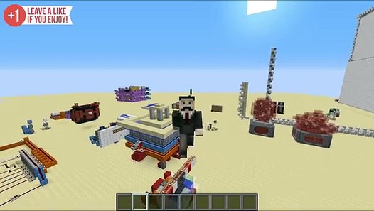 7 Contraptions For Redstone Houses Video Dailymotion