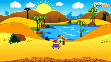 The Yellow Race Cars & Sports Car   Service & Emergency Vehicles Cars & Trucks Cartoon for children