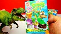 Dinosaurier Ü Eier auspacken mit Dino Spielzeug Videos für Kinder Deutsch Youtube