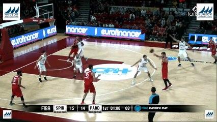 Highlights : Proximus Spirou Charleroi - BK Pardubice (88-66)