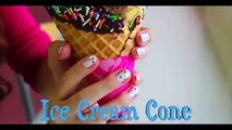 DIY Ice Cream Cone Costume! Makeup, Hair & Outfit | Jackie Wyers