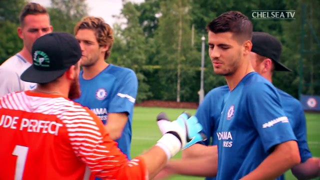 Chelsea players showing incredible skills during promo video