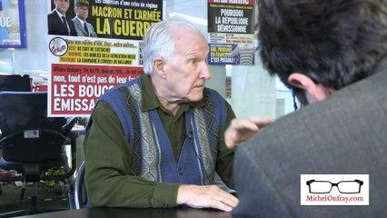 """Alain Badiou : """"On dit que les gens sont coupés de leurs représentants mais c'est les représentants qui sont coupés des gens"""""""