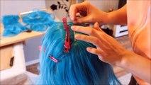 Wig Tutorial - Hades Disney Female (Sakimichan Version) [ENG