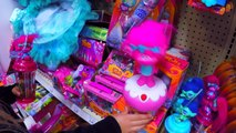 Toys R Us Toy Hunt Trolls Movie Toys Shopping Vlog Video for Kids Giant Surprise Toy Haul by Kyla