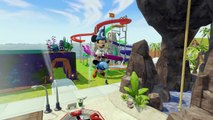 Mickey Mouse Color Playtime with Colorful Paint Ball Action, Surfing, and Cars with Songs for Kids