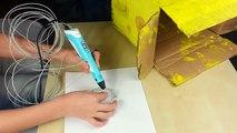 3D ручка Спанч Боб (Губка Боб) Квадратные Штаны. 3D PEN SpongeBob.