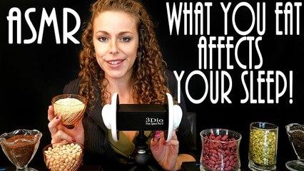 ASMR – Foods that Help you Sleep – Binaural Soft Spoken (Real Health Coach not Role Play)