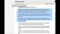 Scriptures Often Ignored: Deuteronomy 30 - Deliverance