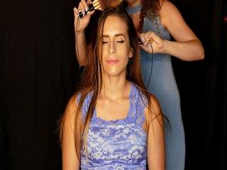 Soft Whispering & Intense Hair Brushing Sounds – ASMR For Sleep!