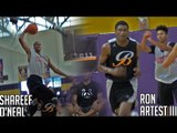 Shareef O'Neal VS Ron Artest III | Sons of Shaq & Metta World-Peace Face Off!