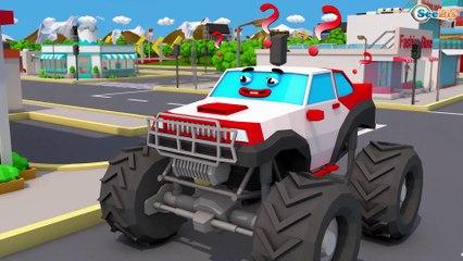 TRATORES e o Caminhoes, Escavadora - Arrumando Estrada - Video Para Criançinhas