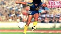 5 Gols Mais Incríveis de Maradona em 1 Minuto - 5 Most Increasing Goals by Maradona  in 1 Minute