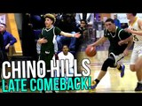 Chino Hills Late Comeback With Melo Fouled Out! | Chino Hills VS Clark Full Highlights