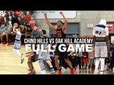 Chino Hills VS Oak Hill Academy FULL GAME   Oak Hill Snaps Chino Hills 60 Game Win Streak