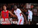 Shareef O'Neal VS Bol Bol PLAYOFF BATTLE! Mater Dei DESTROYS Crossroads in First Round FULL RECAP!