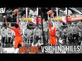 Bol Bol VS Ball Brothers! SNATCHES Shot From ABOVE THE RIM Like NBA STREET! Highlights V Chino Hills