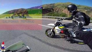Cops Cops and COPS Husqvarna Supermoto 701