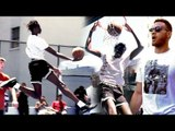 Bol Bol Plays Like JELLYFAM PG In Pick-Up w/ Blake Griffin Watching! RAINING THREES & DUNKS!