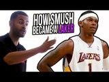 How Smush Parker EARNED Lakers STARTING PG SPOT! IMPORTANT SPEECH FOR HOOPERS!