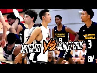 Mobley Brothers VS Mater Dei! MIKE WANG on FIRE & Compton Magic Players Go AT It