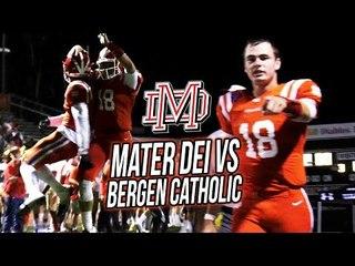 Mater Dei DESTROYS #1 New Jersey Team! Amon-Ra St Brown SEASON DEBUT + MD Defense Scores TWICE!