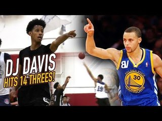 DJ Davis 3-Pointer BARRAGE! Hits 14 THREES in ONE DAY! FULL WEEKEND HIGHLIGHTS