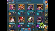 The Best F2P Colosseum Team  :* Lords Mobile *:  Best