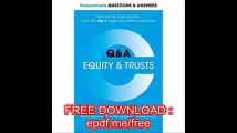 Concentrate Questions and Answers Equity and Trusts Law Q&A Revision and Study Guide, 1st Ed. (Concentrate Law Questions