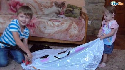 БАССЕЙН ПАНДА Арина и Игорек Играют Видео для детей Swimming Pool for kids